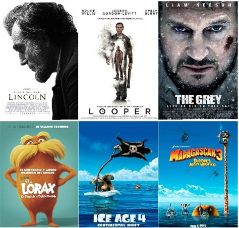 2012 Collection of the Most Creative Movie Posters
