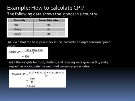 how to calculate years cpi measurement