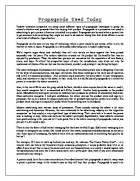 Propaganda Essay Topics by Propaganda Essay Topics Rutgers Essay