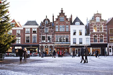 Ice City by Searching For Vermeer S View Of Delft Urban Pixxels