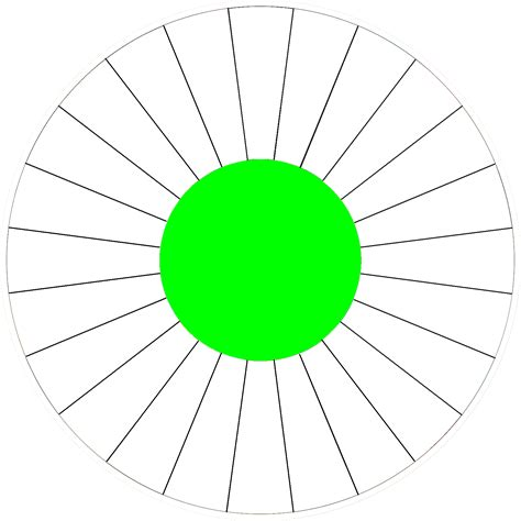 Spin Wheel Template blank spinner template clipart best