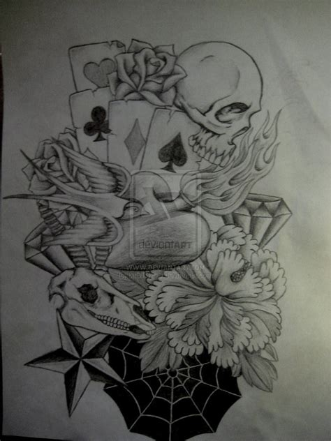 skull and roses sleeve tattoo designs 15 tattoos designs sleeves for design ideas