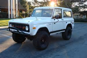 1970s Ford Bronco 1970 Ford Bronco Pictures Cargurus