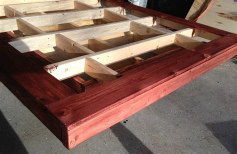 How To Make A Floating Bed Frame How To Build A Diy Floating Bed Frame With Led Lighting