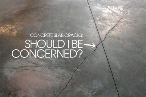 Cracks in Concrete Slabs   Home Inspection   Alabama