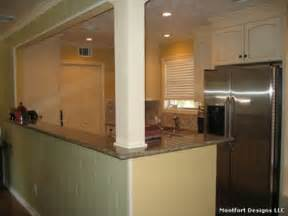Kitchen Design With Basement Stairs Opening To Basement Stairs Home Renovation Dreams