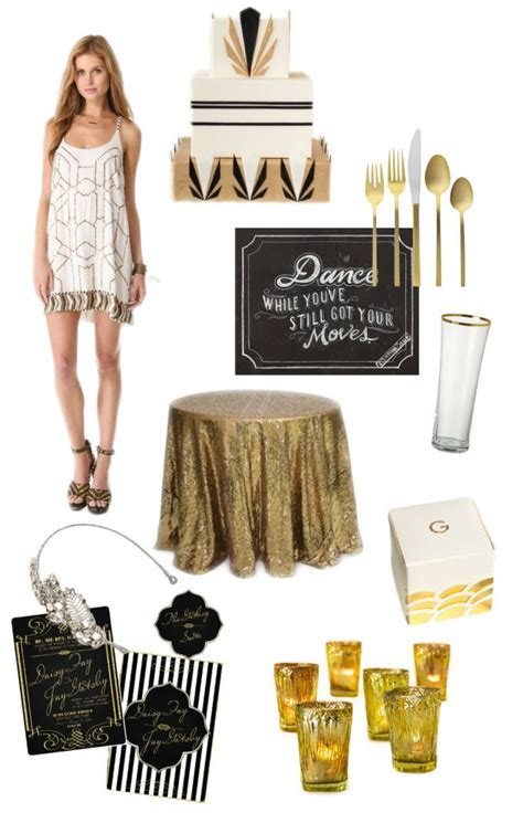 great gatsby themed party ideas party theme great gatsby party ideas pinterest