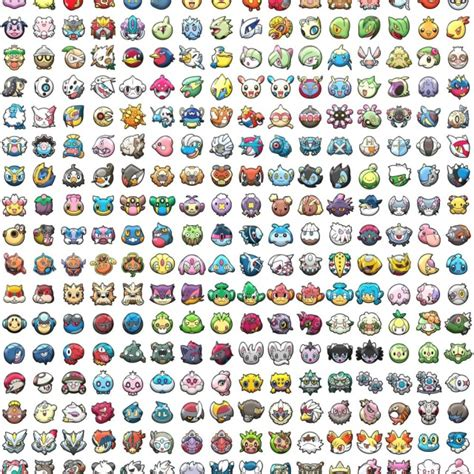 pattern html special characters all pokemon characters pattern