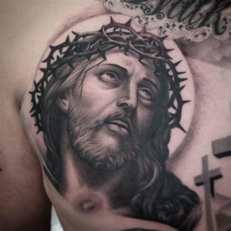 tattoo black jesus kevin dickinson guru tattoo san diego ca