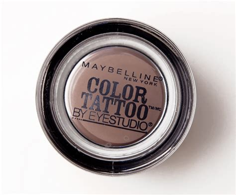 maybelline 24 hour color tattoo maybelline color 24 hour eyeshadows review photos