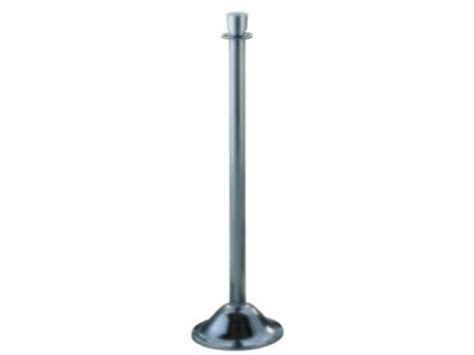 stainless steel l post bell style trad l post satin stainless steel gla 1134sa
