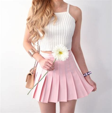 light pink pleated skirt skirt pink pink skirt dress pink dress white white