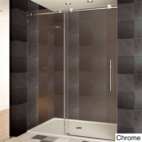 Shower Doors Ebay Lesscare Tempered Glass Frameless Shower Door Ebay