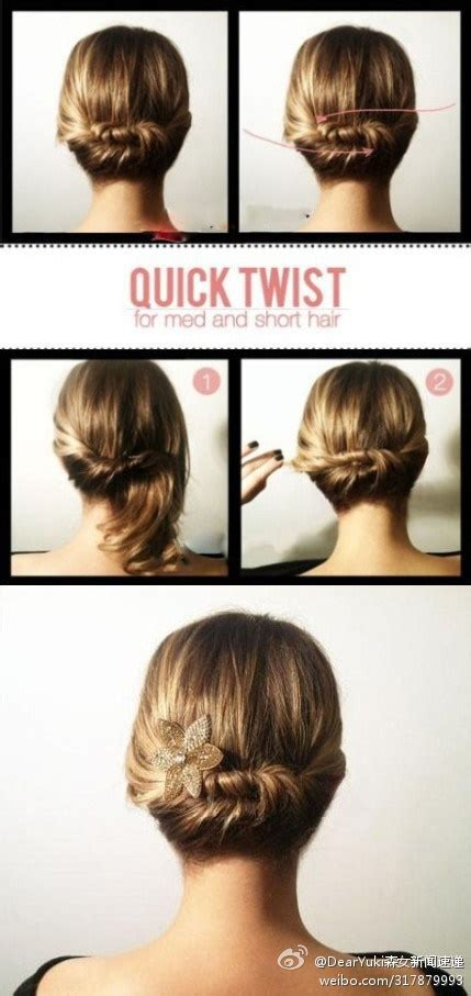 quick and easy short hairstyles hair styles short short easy and fast hairstyles for short hair