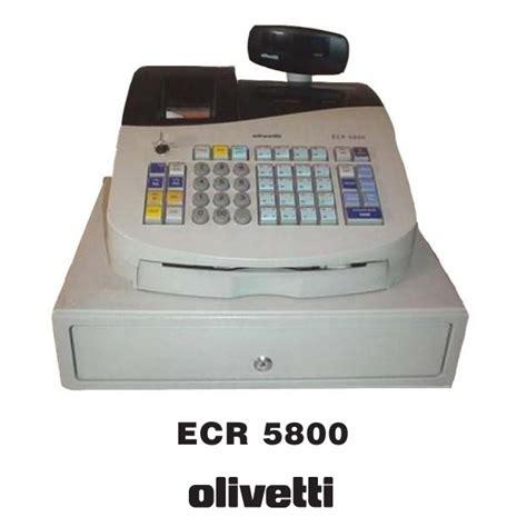 caja registradora olivetti ecr  segunda mano qpq  infus