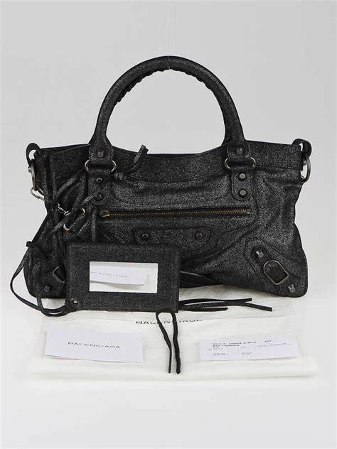Balenciaga Edition Bag by Balenciaga Limited Edition Neiman Black Calfskin
