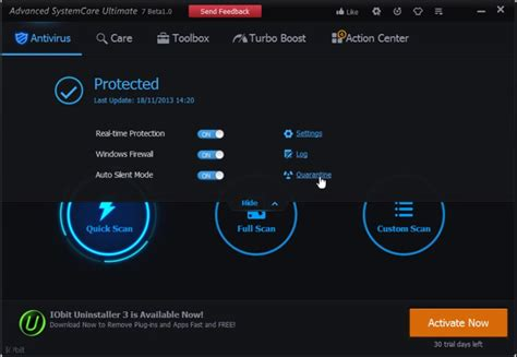 iobit advanced systemcare ultimate 7 beta 1 showcases real