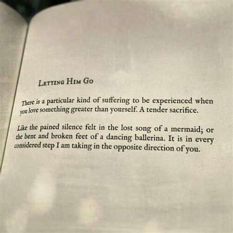 letting go the quote book books quotes about letting him go quotesgram