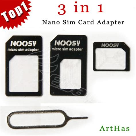 Promo Noosy 3 In 1 Nano Sim Adapter With Sim Card Tray Holder Nsy04 buy 3 in 1 sim card adapter noosy micro sim adapter with retail package for i 300pcs 100set