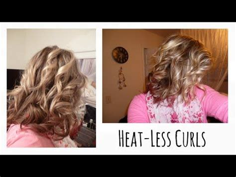 heatless curls for short hair 17 best ideas about heatless curls overnight on pinterest