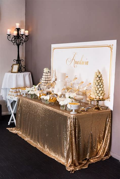 table decor items best 25 gold party ideas on pinterest gold birthday