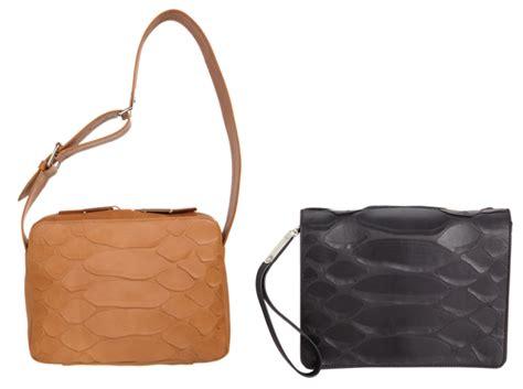 Maison Martin Margiela Bags by Maison Martin Margiela Exaggerated Snake Effect Shoulder Bag