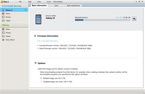 How to Update Galaxy S5 with Kies (All Models) Galaxy S5 Sprint Model