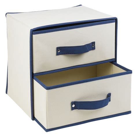 storage boxes with drawers uk collapsible fabric 2 drawer storage boxes containers bits