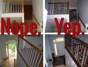 how to install iron balusters view along the way