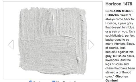 benjamin horizon doesn t turn blue or green paint inspiration grey