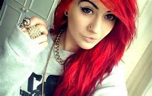 with colored hair colored hair be with style