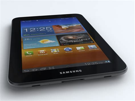 Samsung Tab 2 7 Plus P6200 samsung p6200 galaxy tab 7 0 plus 3d model max obj 3ds
