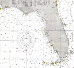 florida water depth map gulf of mexico 1905