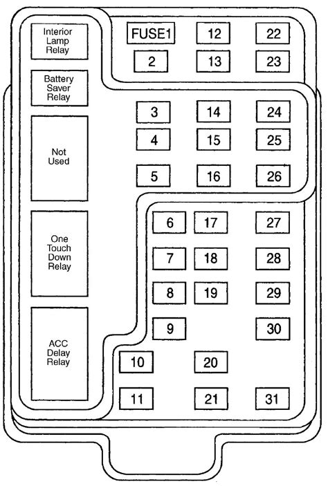 2000 ford f 150 instrument panel 2000 free engine image for user manual download 2000 ford f 150 fuses and fuse box layout ricks free auto repair advice ricks free auto repair