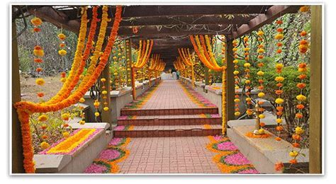 marigold flower wedding decorations aptso exports