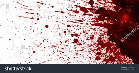 pattern formation in drying drops of blood dry blood splatter stock illustration 31319164 shutterstock