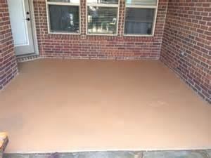 How To Paint Patio Stained Concrete Patio What Should My Accent Stain Color Be