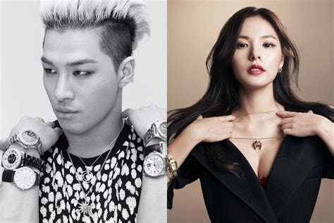 nb taeyang and min hyo rin are in a relationship spotted together yg entertainment denies taeyang and min hyo rin have broken up