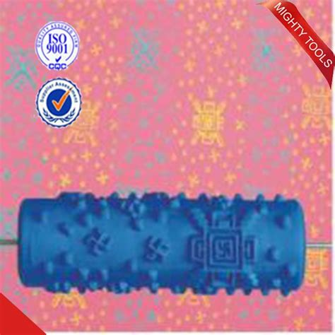 texture pattern rubber rollers texture paint roller with decorate machine soft rubber