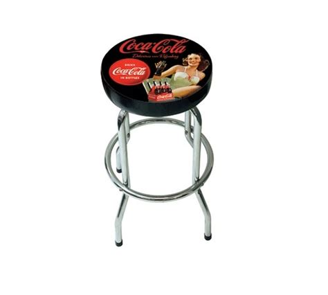 Tabouret Coca Cola by Tabouret De Bar Coca Cola Pin Up Noir