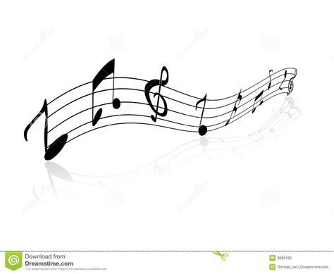 clipart note musicali disegno delle note musicali illustrazione vettoriale