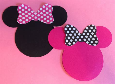 minnie mouse silhouette template   clip