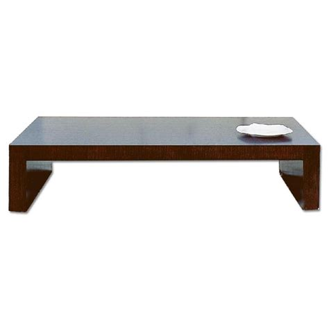 Minimalist Coffee Table Modern Minimalist Style Coffee Table In Espresso Finish Aptdeco