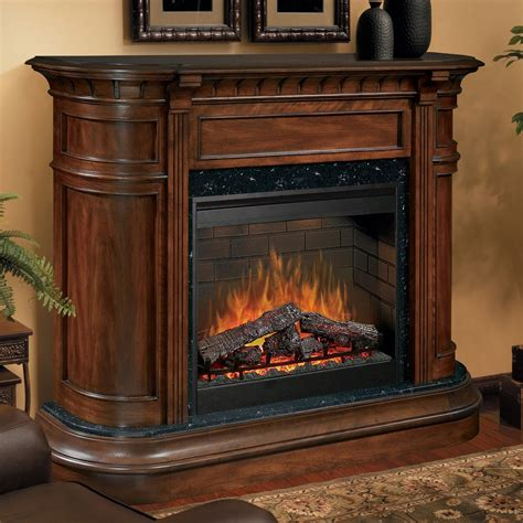 Walnut Electric Fireplace by Dimplex Carlyle Burnished Walnut Electric Fireplace At