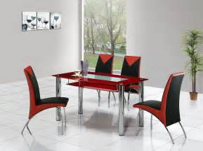 Glass Dining Room Tables And Chairs by Rimini Large Glass Dining Table Dining Table And Chairs