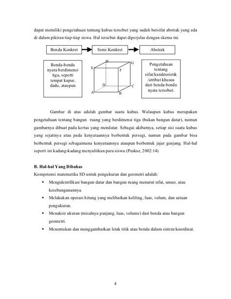 rumus membuat abstrak geometri ruang