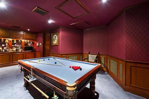 snooker room of homes five properties with room for a snooker table