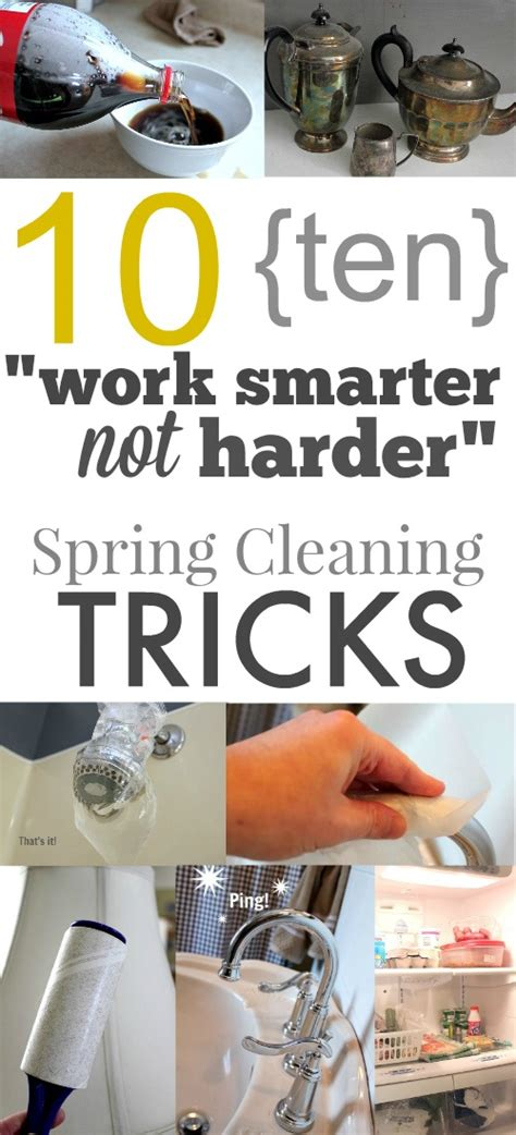 tips for spring cleaning 10 spring cleaning tricks work smarter not harder the