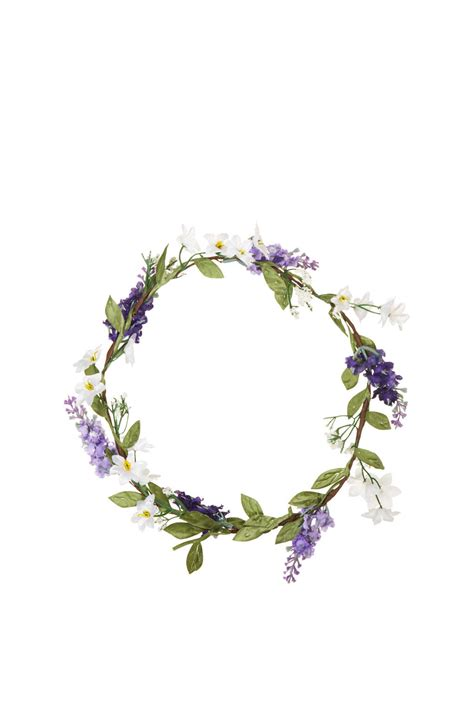 garland tattoo lyst topshop flower garland in purple