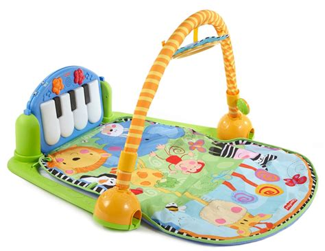 Piano Activity Mat by Fisher Price Discover N Grow Kick And Play Piano